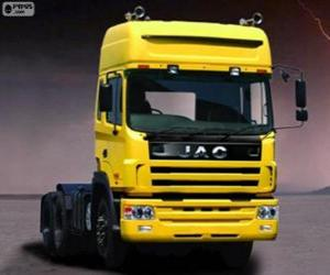 Puzzle Camion Jac Runner