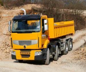 Puzzle Camion Renault Premium Lander