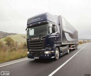 Puzzle Camion Scania R 580 4×2 Streamline