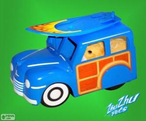 Puzzle Camion surf