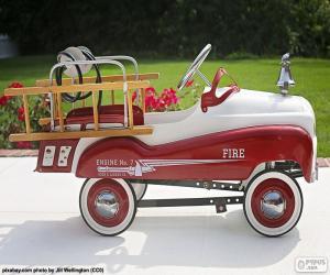 Puzzle Camions pompiers pour les enfants