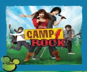 Puzzle Camp Rock