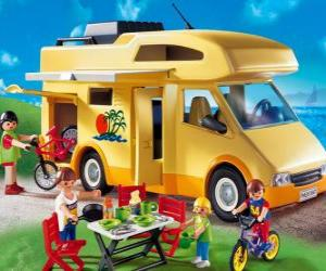 Puzzle Camping-car Playmobil