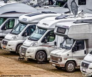 Puzzle Camping-cars motorhomes