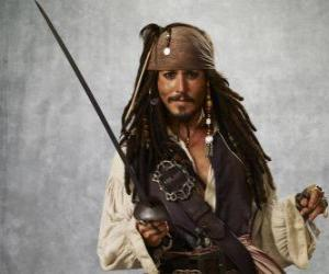 Puzzle Capitaine pirate