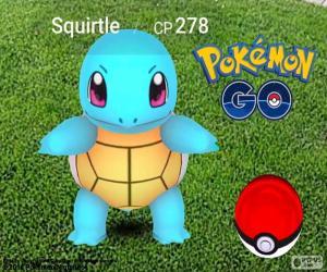 Puzzle Carapuce, Pokémon GO