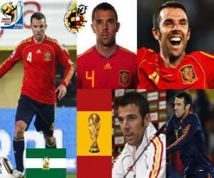 Puzzle Carlos Marchena (Les invincibles) défense de l'équipe nationale Espagnol