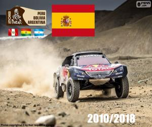 Puzzle Carlos Sainz Dakar 2018