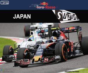 Puzzle Carlos Sainz Jr. GP du Japon 2016