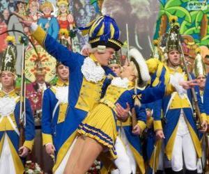 Puzzle Carnaval de Cologne, Allemagne