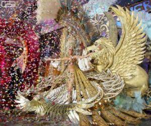 Puzzle Carnaval de Santa Cruz de Tenerife, Espagne