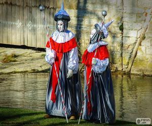 Puzzle Carnaval Venise