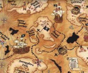 Puzzle Carte du trésor