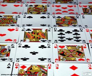 Puzzle Cartes de poker