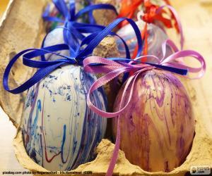 Puzzle Carton d'oeufs de Pâques