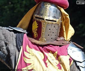 Puzzle Casque de chevalier