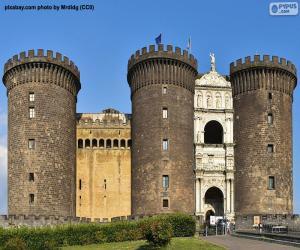 Puzzle Castel Nuovo, Italie