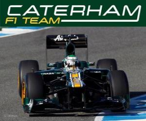 Puzzle Caterham CT01 - 2012 -