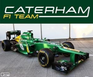 Puzzle Caterham CT03 - 2013 -