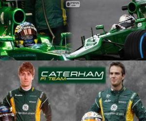 Puzzle Caterham F1 Team 2013