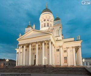 Puzzle Cathédrale d'Helsinki, Finlande