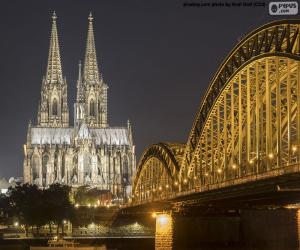 Puzzle Cathédrale de Cologne, Allemagne
