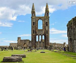 Puzzle Cathédrale de St. Andrews, Écosse