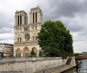 Puzzle Cathédrale Notre-Dame, Paris