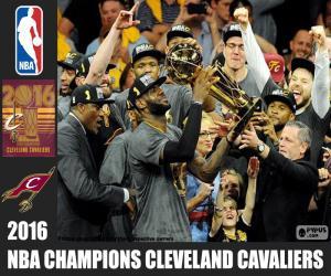 Puzzle Cavaliers, champion NBA 2016