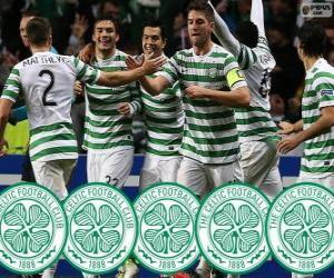 Puzzle Celtic FC champion 2013-2014