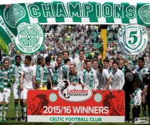Puzzle Celtic FC champion 2015-2016