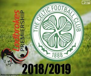 Puzzle Celtic FC, champion 2018-2019