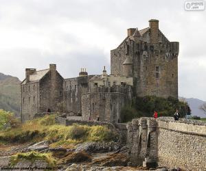 Puzzle Château d'Eilean Donan, Écosse
