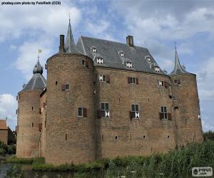 Puzzle Château d'Ammersoyen, Pays-Bas