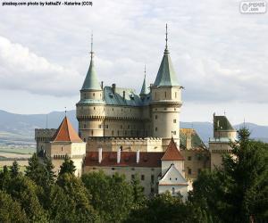Puzzle Château de Bojnice, Slovaquie