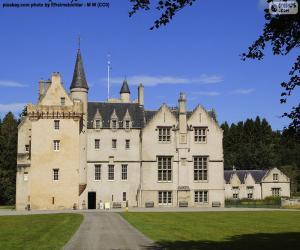 Puzzle Château de Brodie, Écosse