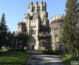 Puzzle Château de Butrón, Espagne