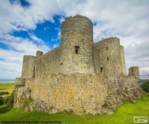 Puzzle Château de Harlech, Pays de Galles