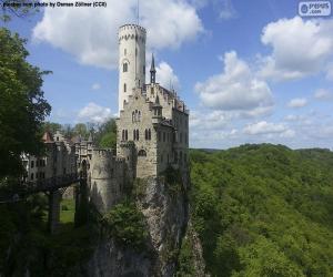 Puzzle Château de Lichtenstein, Allemagne