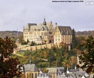 Puzzle Château de Marbourg, Allemagne