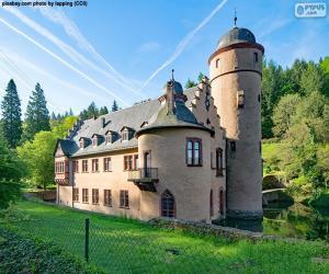 Puzzle Château de Mespelbrunn, Allemagne