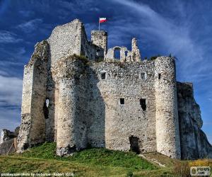 Puzzle Château de Mirów, Pologne