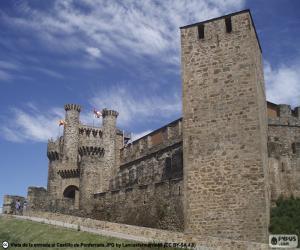 Puzzle Château de Ponferrada, Espagne