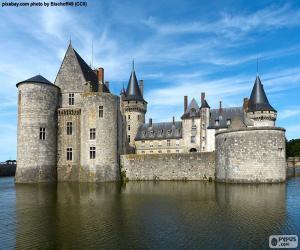 Puzzle Château de Sully-sur-Loire, France