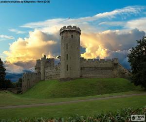 Puzzle Château de Warwick, Angleterre