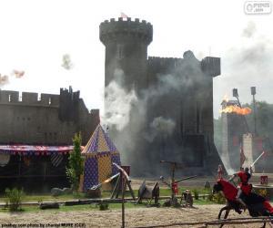 Puzzle Château du moyen âge