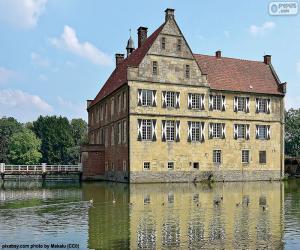 Puzzle Château Hülshoff, Allemagne