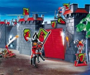 Puzzle Château Playmobil
