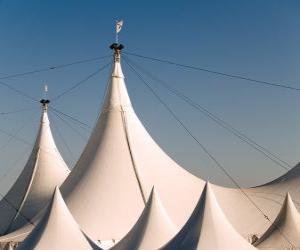 Puzzle Chapiteau du cirque