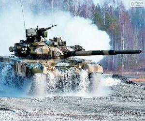 Puzzle Char de combat russe T-90S